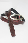 Woman's leather belt GALANTEYA