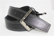 Leather belt GALANTEYA