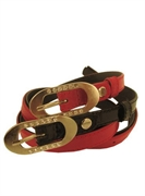 leather belt GALANTEYA model 14513