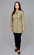 Women's Mid Length Mac Coat В-841