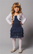 Girls' Cardigan/Dress D-2088/D-2089