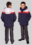 Пошив на заказ Модель: 2468И Куртка утепленная для мальчика (деми)